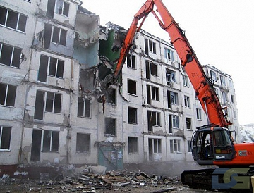 Снос хрущевок в Москве