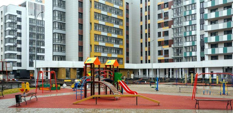 Новые дома согласно плану реновации