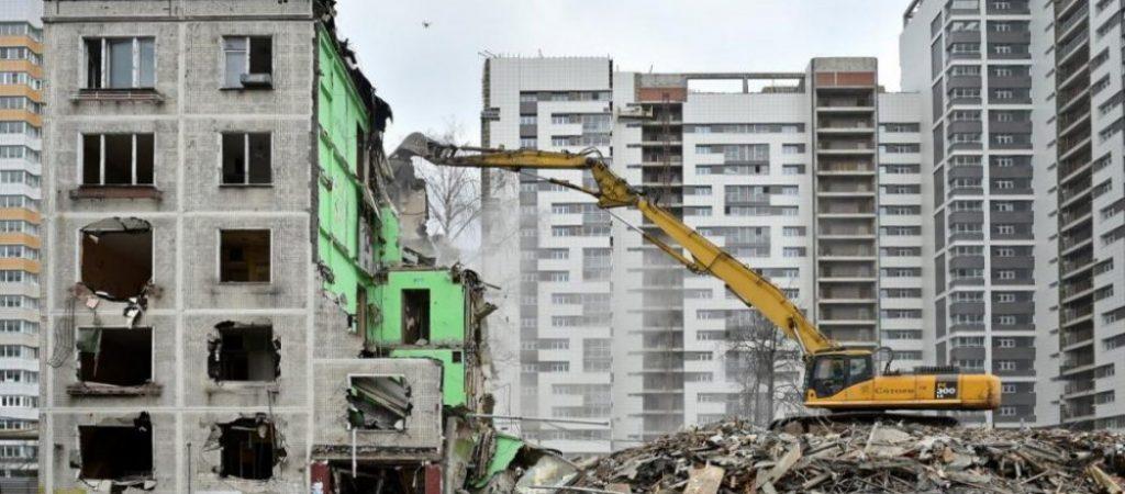 Программа сноса пятиэтажек в Москве до 2025 года и список планируемых под снос домов