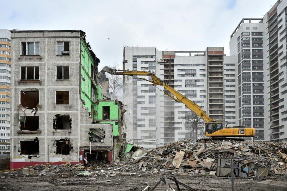 Дома, предназначенные для сноса до 2025 года