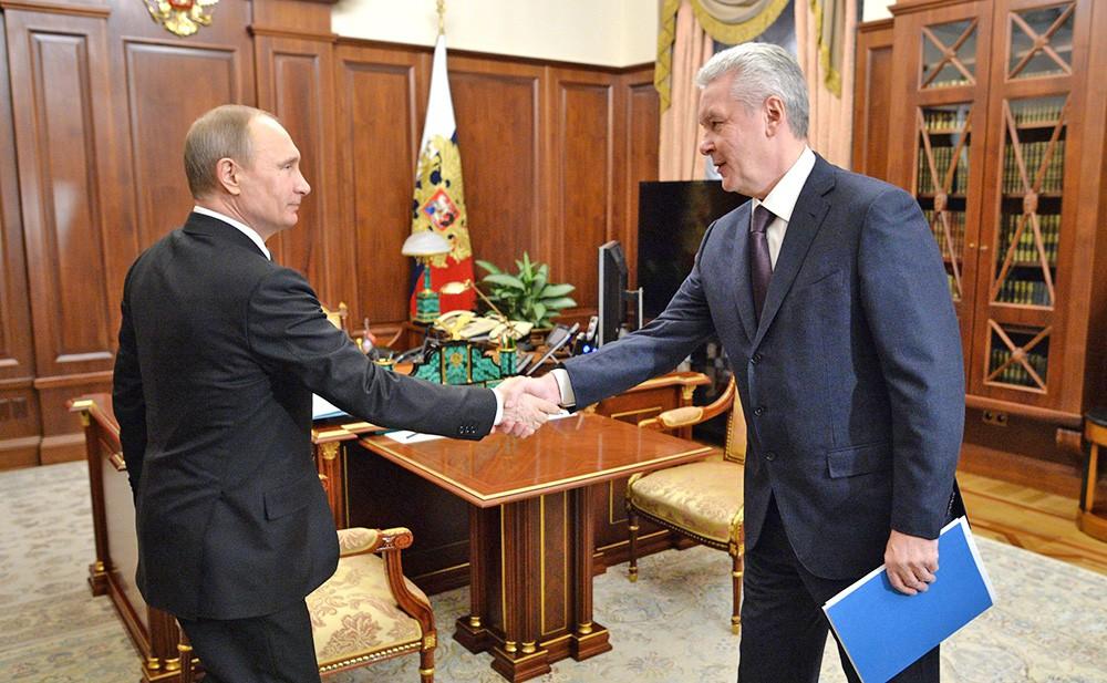Встреча Собянина с В. В. Путиным