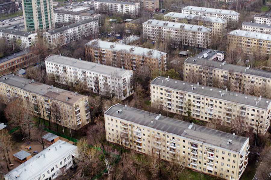Дома, которые планируется сносить согласно закону о реновации столицы