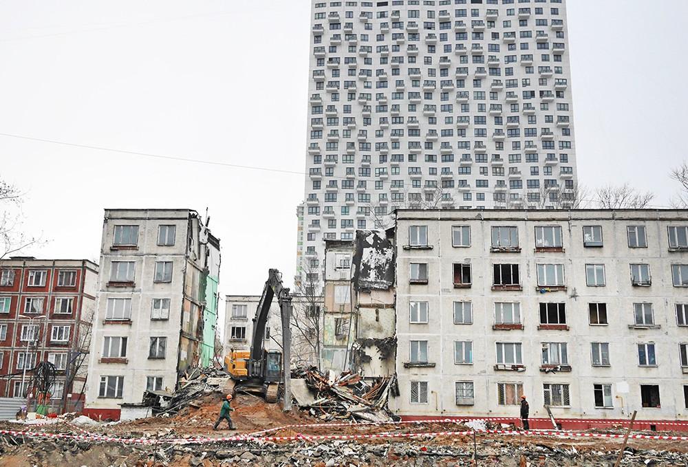 Процесс реновации в Москве запущен