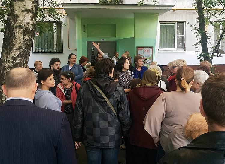 Собрание собственников жилья для обсуждения реновации