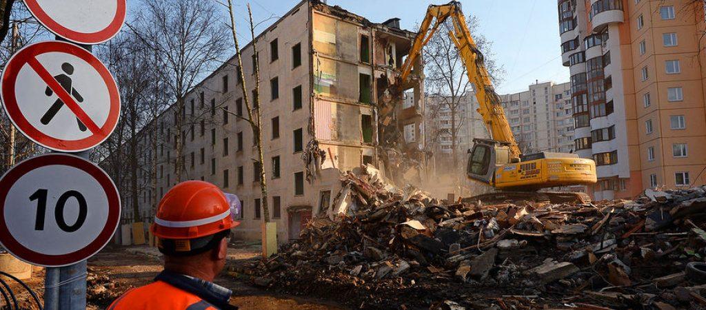 Подробности и недостатки закона о сносе пятиэтажек в Москве