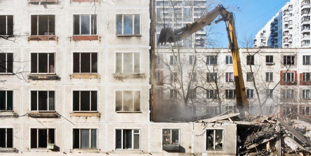 Подлежат ли девятиэтажки Москвы сносу